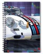 Porsche 356 Martini Racing Spiral Notebook