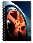 Porsche 5 Spiral Notebook
