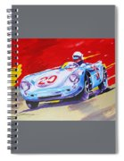 Porsche 550 Rs - 1956 Spiral Notebook