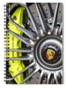 Porsche 918 Wheel Spiral Notebook