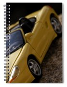 Porsche Car Spiral Notebook