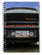 Porsche Carrera Rsr Spiral Notebook