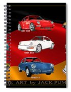 Porsche Times Nine Spiral Notebook