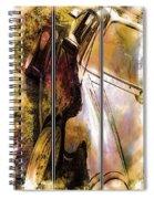 Porsche Triptych Spiral Notebook