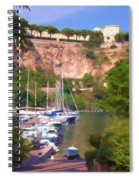 Port And Palace Spiral Notebook
