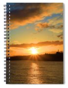 Port Angeles Sunburst Spiral Notebook