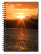 Port Angeles Sunrise Spiral Notebook