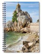 Port Blanc Pevenan Brittany France Spiral Notebook