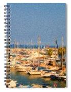 Port De Fontvieille Spiral Notebook