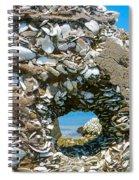 Port Hole Window Spiral Notebook