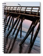 Port Hueneme Pier Askew Spiral Notebook