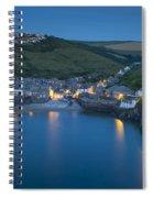 Port Issac Night Spiral Notebook