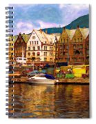 Port Life Watercolor Spiral Notebook