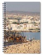 Port Of Agadir Morocco Spiral Notebook