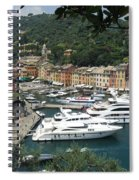 Port Of Portofino Spiral Notebook