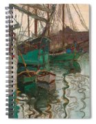 Port Of Trieste Spiral Notebook