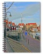 Port Of Volendam Spiral Notebook