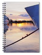 Port Sunrise Spiral Notebook