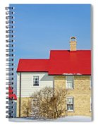 Port Washington Light Station  Spiral Notebook