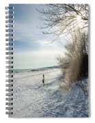 Port Washington - South Beach 3  Spiral Notebook