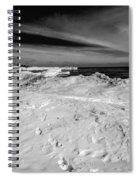 Port Washington - South Beach B-w  Spiral Notebook