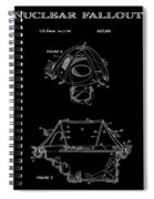 Portable Nuclear Fallout Shelters 2 Patent Art 1986 Spiral Notebook