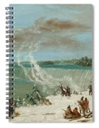 Portage Around The Falls Of Niagara At Table Rock Spiral Notebook