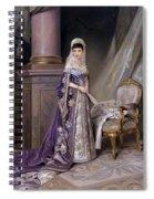 Portait Of Empress Maria  Fyodorovna Spiral Notebook