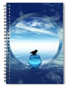 Portal To Peace Spiral Notebook