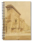 Porte St Denis, Paris Spiral Notebook
