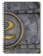 Porter And Company Steam Boiler Spiral Notebook