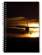 Porter Sunset II Spiral Notebook