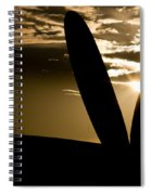 Porter Sunset Spiral Notebook