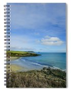 Porthcurnik Beach Cornwall Spiral Notebook