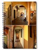 Porticos Of Padua No 2 Spiral Notebook