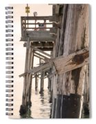 Portion Of The Pier Balboa Spiral Notebook