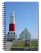 Portland Bill Lighthouse Spiral Notebook