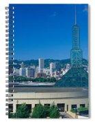 Portland Convention Center, Morning Spiral Notebook