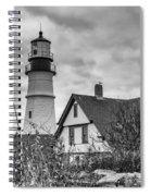 Portland Head Light 14431b Spiral Notebook