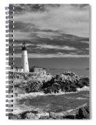 Portland Head Light 19456b Spiral Notebook