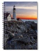 Portland Head Light Awakes Spiral Notebook