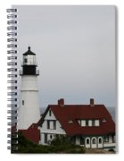 Portland Head Light I Spiral Notebook