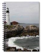 Portland Head Light - M E Spiral Notebook