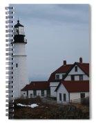Portland Head Lighthouse 8529 Spiral Notebook