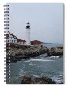 Portland Head Lighthouse 8557 Spiral Notebook