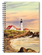 Portland Head Lighthouse Maine Spiral Notebook
