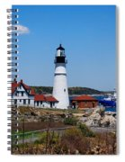 Portland Head Lighthouse Spiral Notebook
