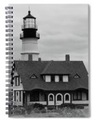 Portland Headlight 14221 Spiral Notebook