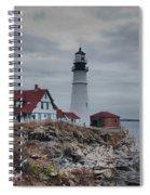 Portland Headlight 14456 Spiral Notebook