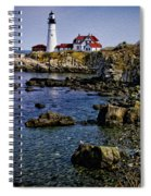 Portland Headlight 37 Oil Spiral Notebook